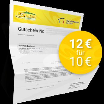 Gutschein 12,00 EUR