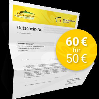 Gutschein 60,00 EUR